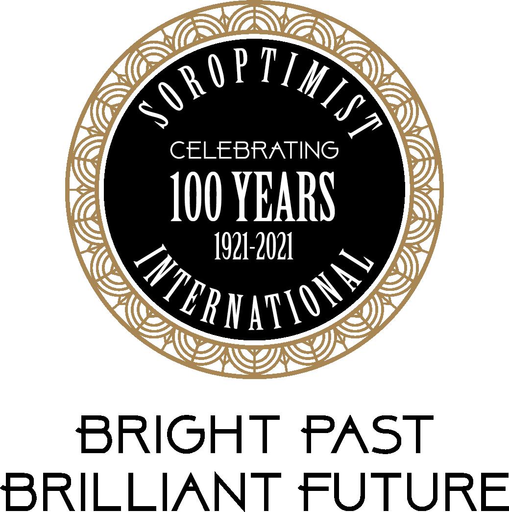 Soroptimist 100 yr Logo